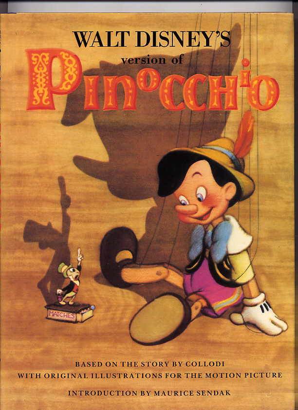 Image for Walt Disney's Version Of Pinocchio