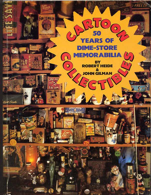 Image for Cartoon Collectibles. 50 Years Of Dime Store Memorabilia