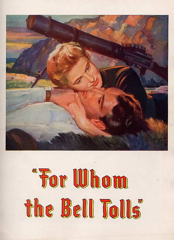 Image for For Whom The Bell Tolls Souvenir Program