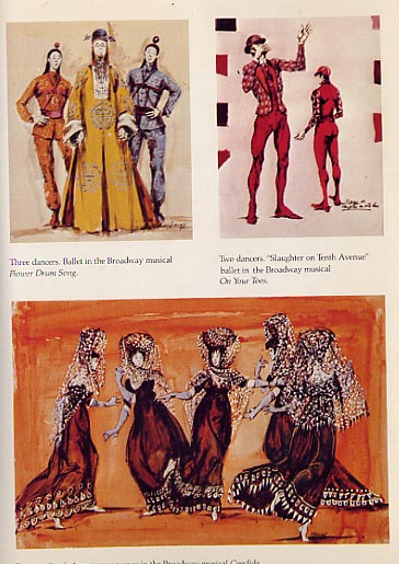 Image for Broadway And Hollywood, Costumes Designed by Irene Sharaff