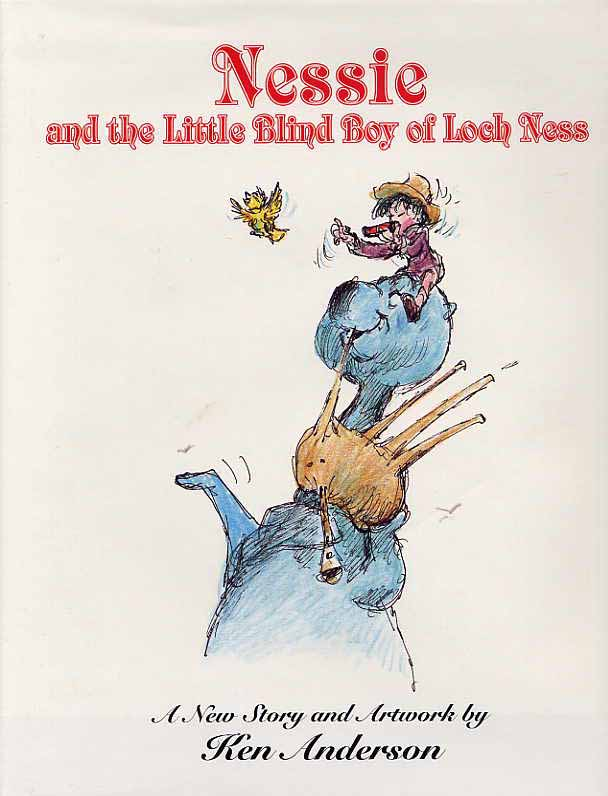 Image for Nessie And The Little Blind Boy Of Loch Ness, A New Story And Artwork