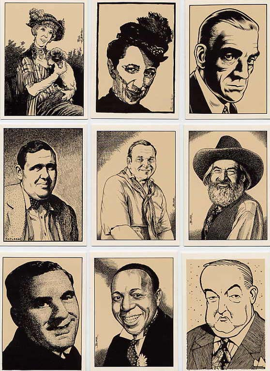 Image for Hollywood Characters Boxed Card Set