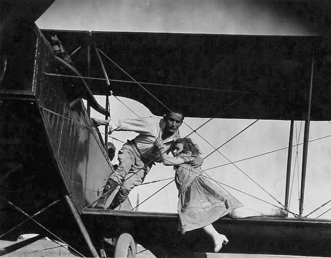 Image for Early Airplane Stunt Still Photograph
