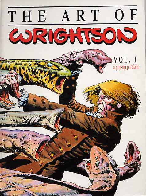 Image for The Art Of Wrightson. A Pop-Up Portfolio. Vol. 1.