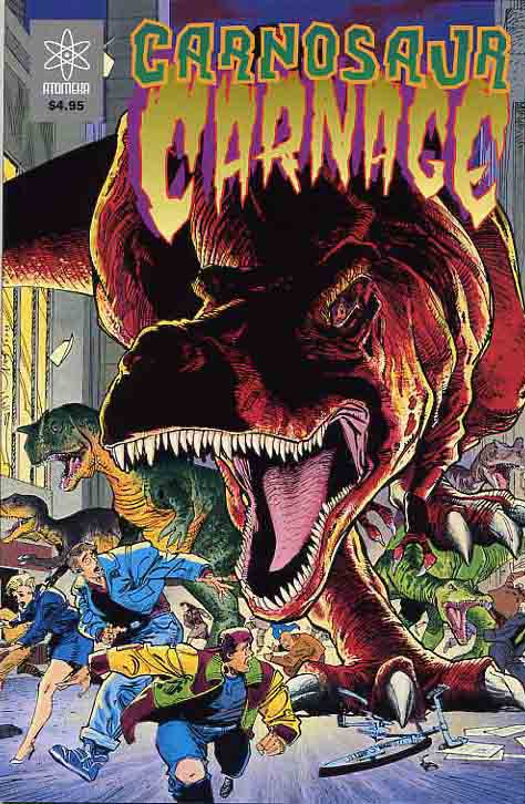 Image for Monster Massacre & Carnosaur Carnage