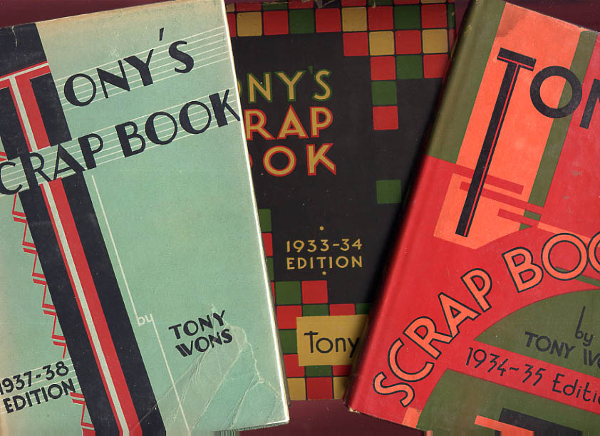 Image for Tony's Scrap Book Collection