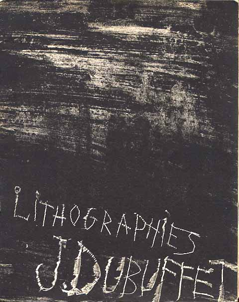 Image for Exhibition of Lithographs By Jean Dubuffet