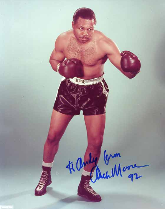 Image for Signed Archie Moore Photograph
