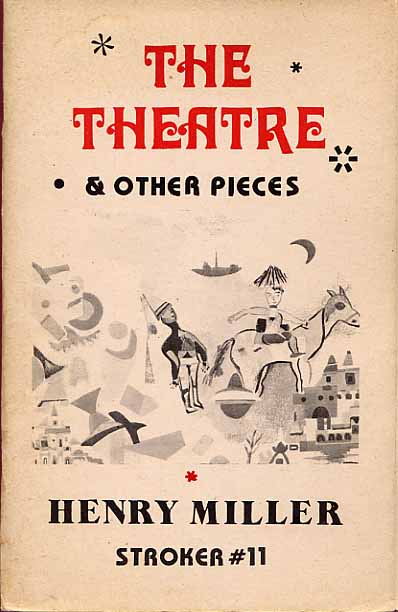 Image for The Theatre & Other Pieces