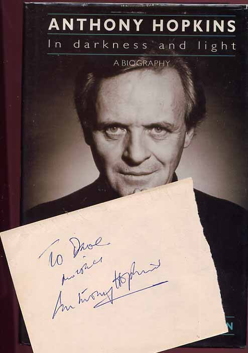Image for Anthony Hopkins In Darkness and Light
