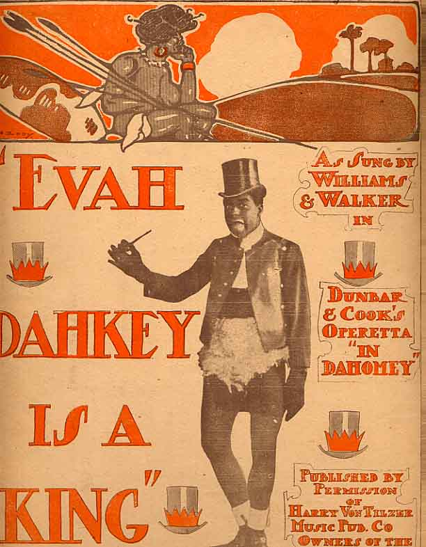 Image for Evah Dahkey Is A King Sheet Music