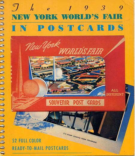 Image for The 1939 New York World's Fair In Postcards