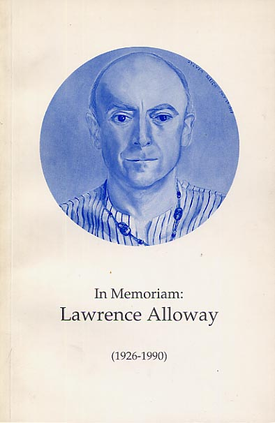 Image for In Memoriam: Lawrence Alloway