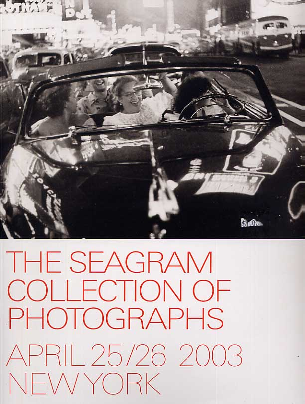 Image for The Seagram Collection of Photographs