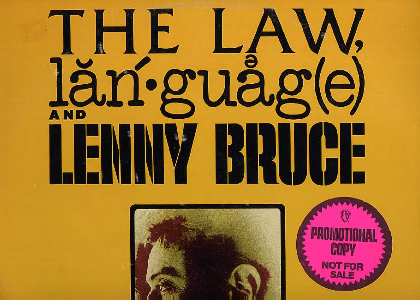 Image for The Law, Language and Lenny Bruce