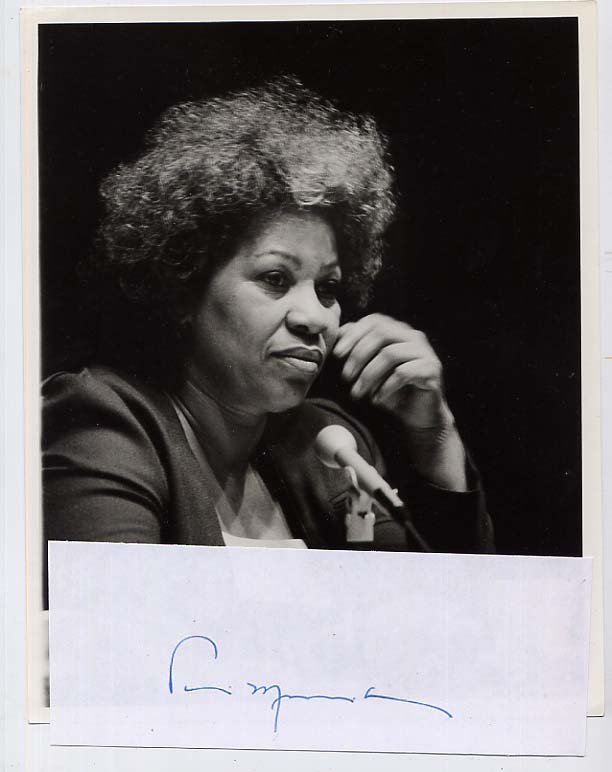 Image for Signed Toni Morrison Photograph