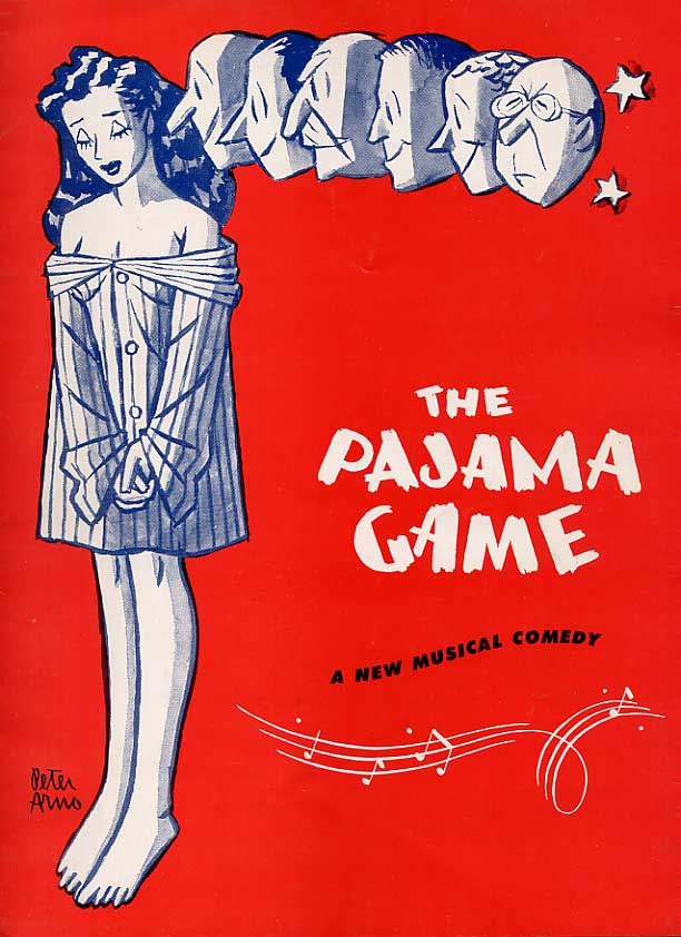 Image for The Pajama Game Souvenir Program