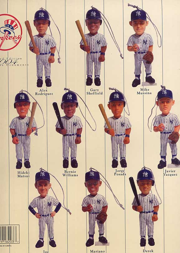 Image for New York Yankees Limited Edition 2004 Miniature Ornaments