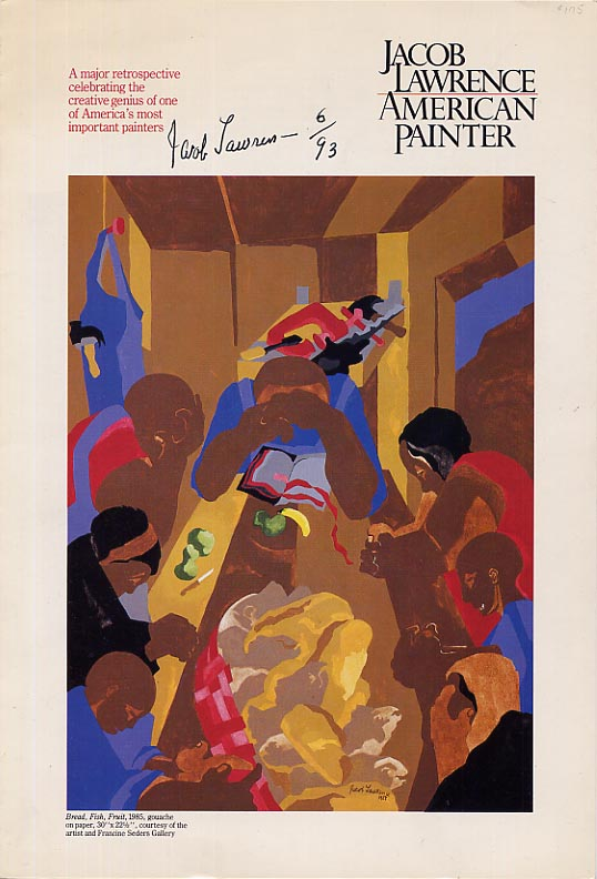 Image for Jacob Lawrence American Painter. A Major Retrospective Celebrating the Creative Genius of One of America's Most Important Painters