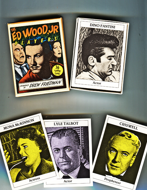 Image for The Ed Wood, Jr. Players. 36 Trading Cards
