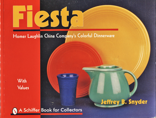Image for Fiesta. Homer Laughlin China Company's Colorful Dinnerware
