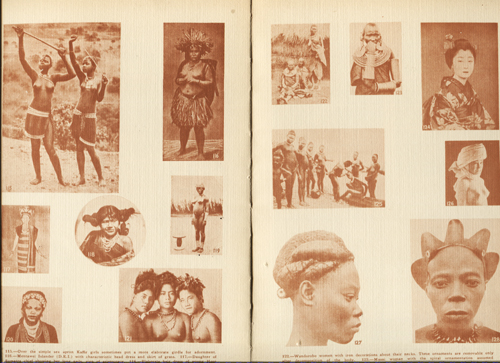 Image for A Private Anthropological Cabinet of 500 authentic Racial-Esoteric Photographs and Illustrations