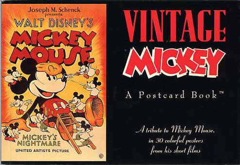 Image for Vintage Mickey. A Postcard Book.