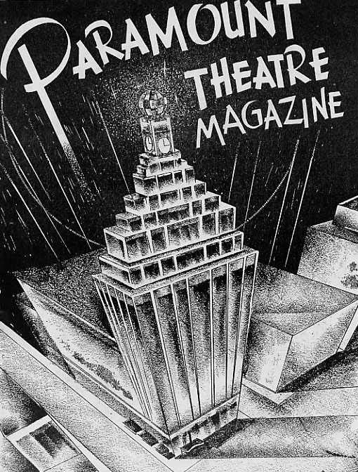 Image for Paramount Theatre Magazines. 2 issues.