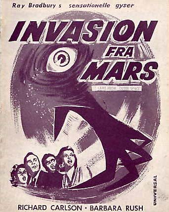 Image for It Came From Outerspace, (Invasion Fra Mars) Danish Program