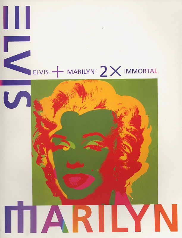 Image for Elvis + Marilyn: 2 X Immortal.