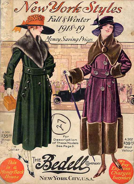 Image for New York Styles. Fall & Winter 1918-19.