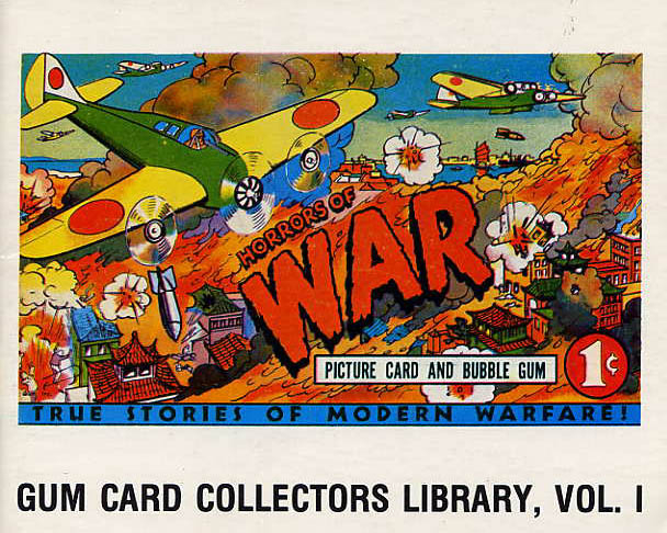 Image for Horrors Of War/ Gum Card Collectors Library