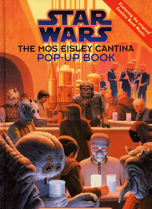 Image for Star Wars. The Mos Eisley Cantina Pop-Up Book