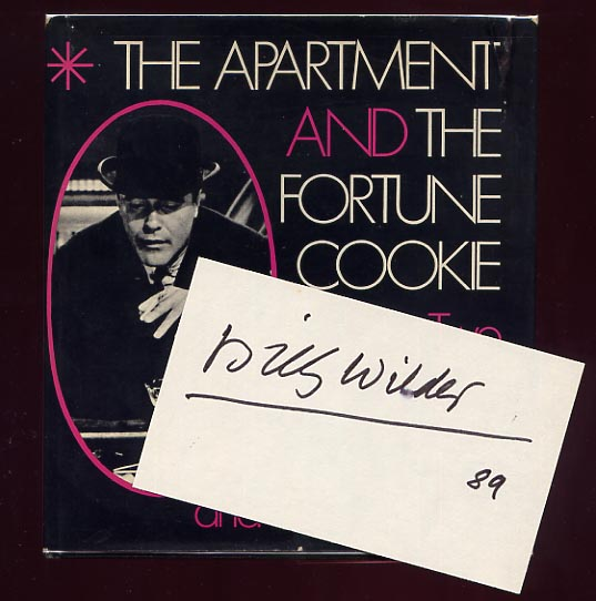 Image for The Apartment And The Fortune Cookie. Two Screenplays