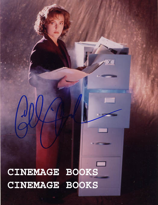 Image for Signed Gillian Anderson Portrait