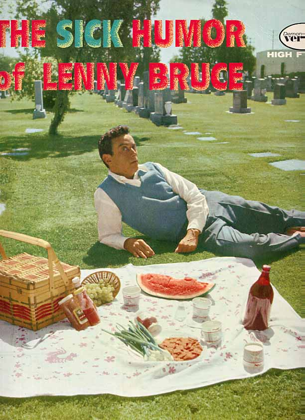 Image for The Sick Humor Of Lenny Bruce Record