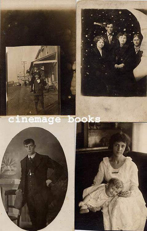 Image for Collection of 25 Vintage Photographic Portrait Postcards