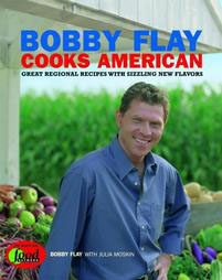 Image for Bobby Flay Cooks American. Great Regional Recipes With Sizzling New Flavors