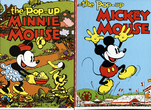Image for The Pop-Up Mickey Mouse & The Pop-Up Minnie Mouse