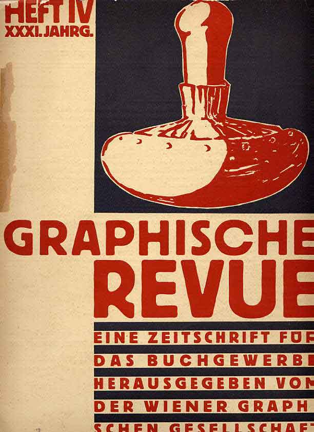 Image for Graphische Revue.