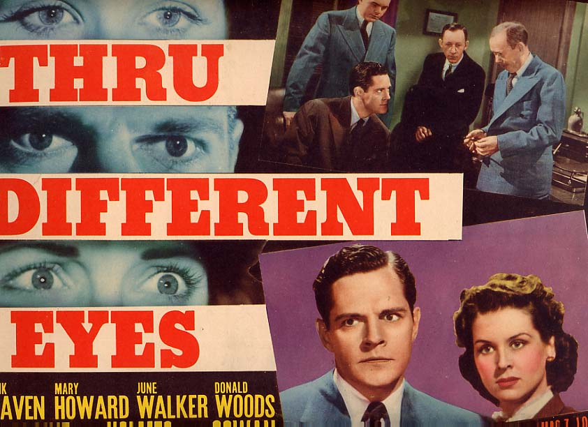 Image for Thru Different Eyes Lobby Card