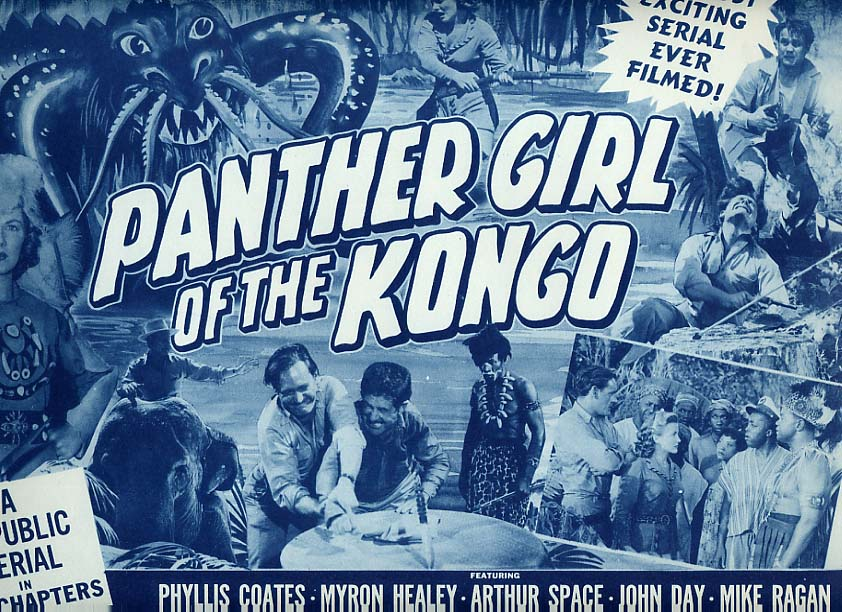Image for Panther Girl Of The Congo Lobby Card